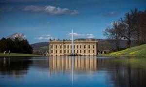 Chatsworth House, Derbyshire, UK.