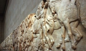 A frieze that forms part of the Parthenon marbles.