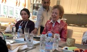 Sheikha Latifa with Mary Robinson