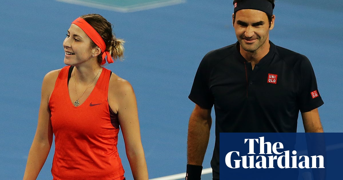 722b2cf3840 Roger Federer and Belinda Bencic cruise to Hopman Cup victory over Britain