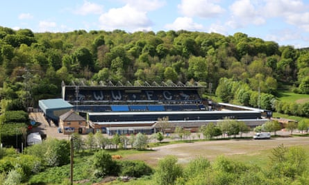 Adams Park, home of League One's Wycombe Wanderers