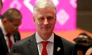 US national security adviser Robert O'Brien attends the Asean-US summit in Thailand
