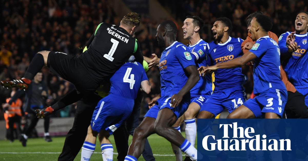 Tottenham crash out of Carabao Cup to Colchester on penalties