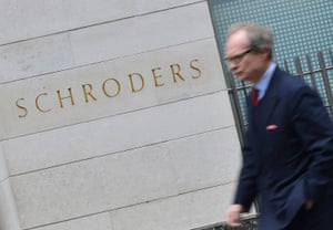 Schroders in the City of London