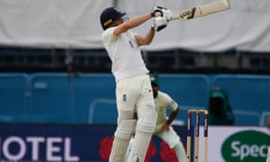 Jos Buttler hits a six for England v Pakistan