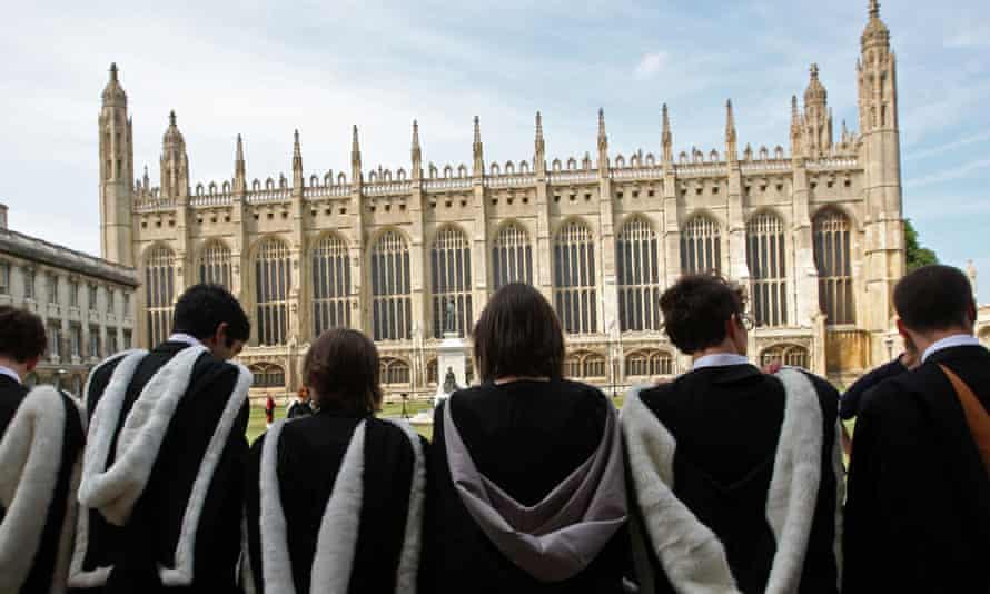 Cambridge University students.
