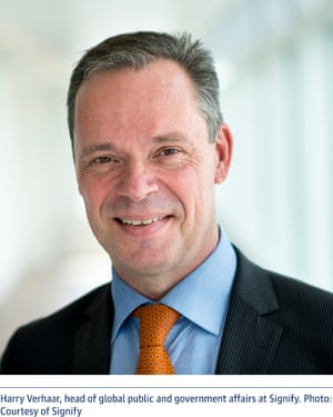 Harry Verhaar, head of global public and government affairs at Signify