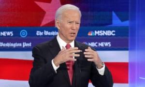 Joe Biden: 'Come together, man.'