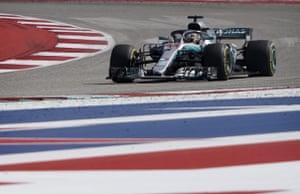 Hamilton, in third.