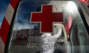 A Mexican Red Cross ambulance.