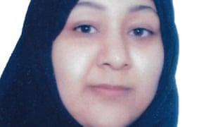 Resaved version of image of Najah Yusuf, prisoner detained in Bahrain jail after protesting at the holding of the Formula One grand prix. (resaved image)