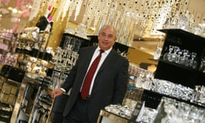 Sir Philip Green in a central London BHS store in 2009
