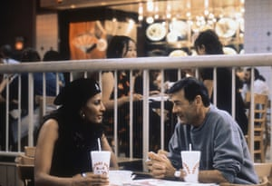 Robert Forster received a career resurgence and Oscar nomination for playing bail bondsman Max Cherry in Jackie Brown with Pam Grier.
