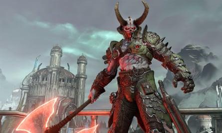 Doom Eternal Marauder.