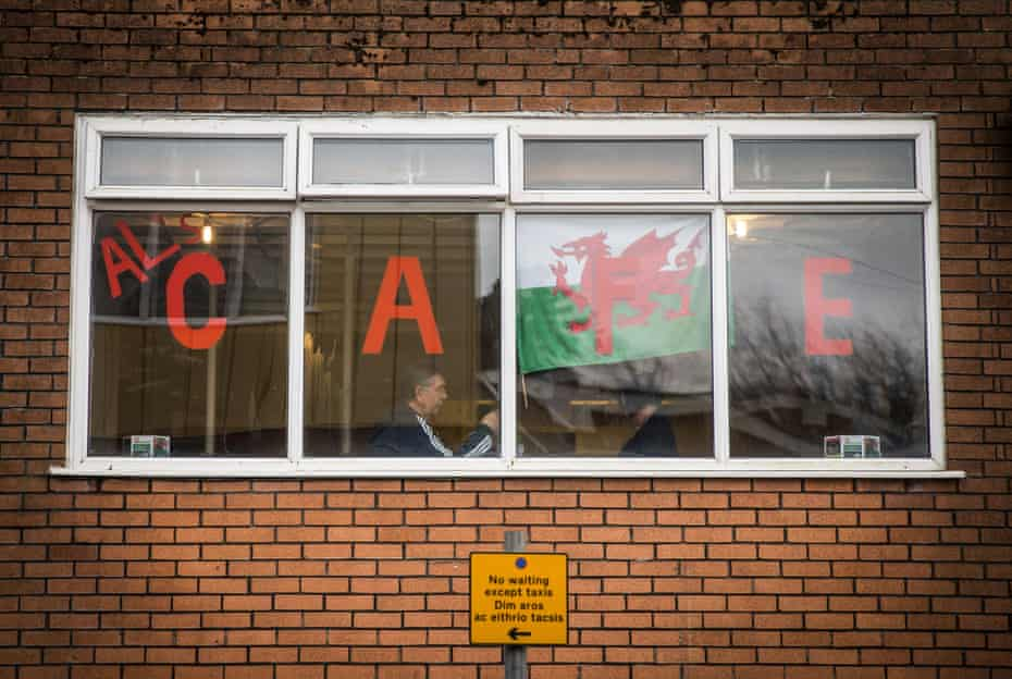 A Cafe in Merthyr Tydfil, Wales – an area that voted for Brexit.