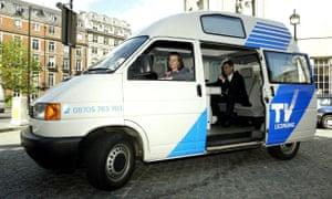BBC TV LICENSING DETECTOR VAN 2002