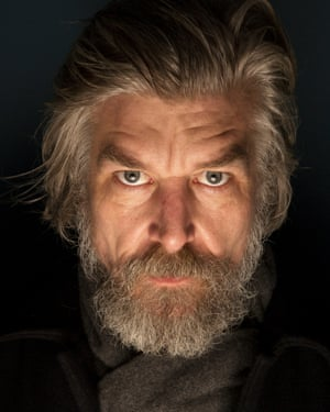 Karl Ove Knausgaard photographed in London's Soho for an interview in the New Review.