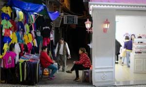 A market in Macau