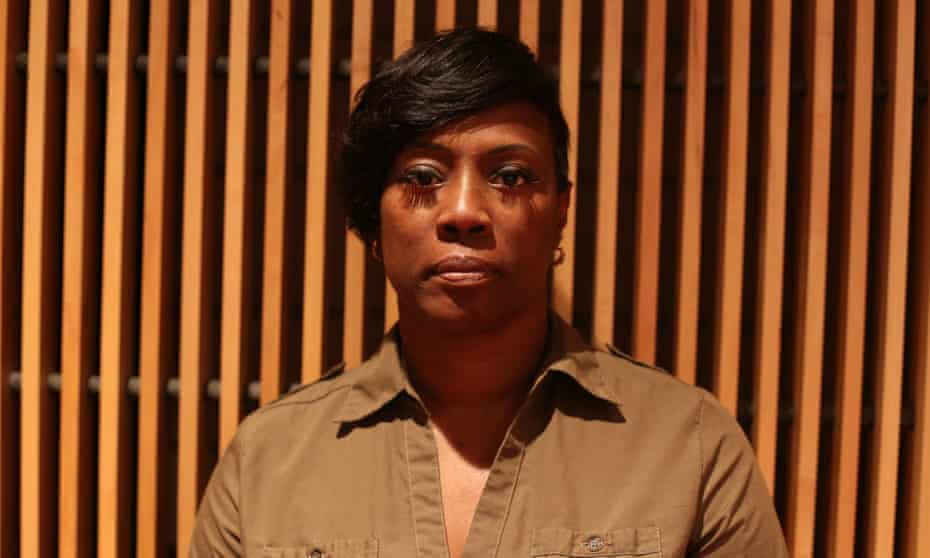 Crystal Mason, who is facing five years in Texas prisons because she mistakenly cast a provisional ballot when she was not allowed to do so.
