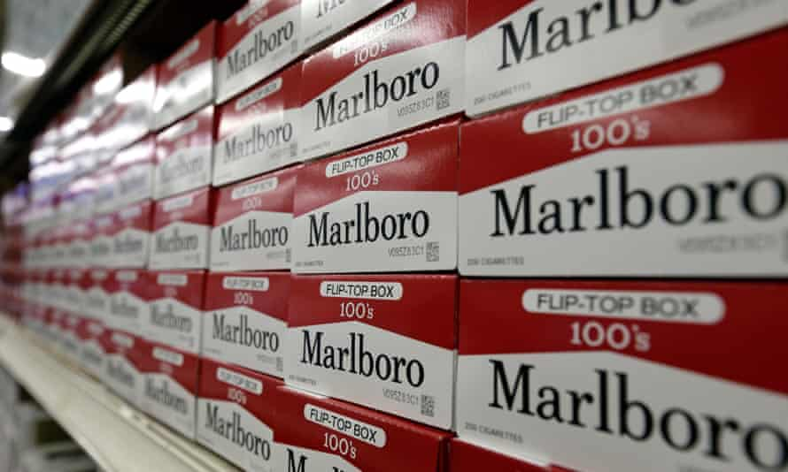 Cartons of Marlboro cigarettes