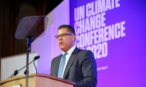 Alok Sharma at an event to launch the private finance agenda for the 2020 UN climate change conference  in London
