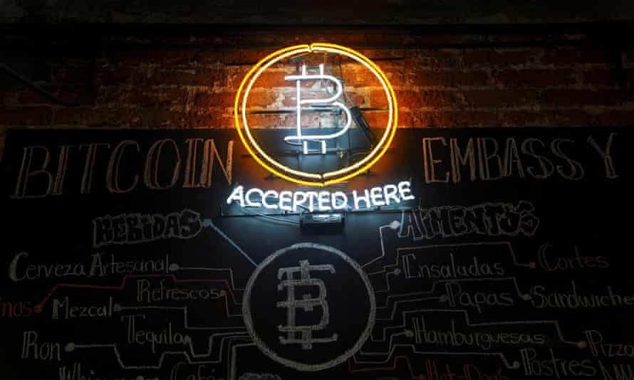 Bitcoin Embassy bar in Mexico City