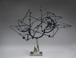 Star Cage, 1950, a sculpture by David Smith.