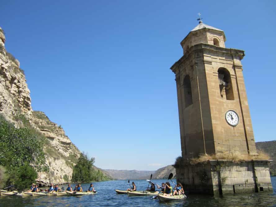 Kayaking at Campsite Port Massaluca, Catalonia, Spain
