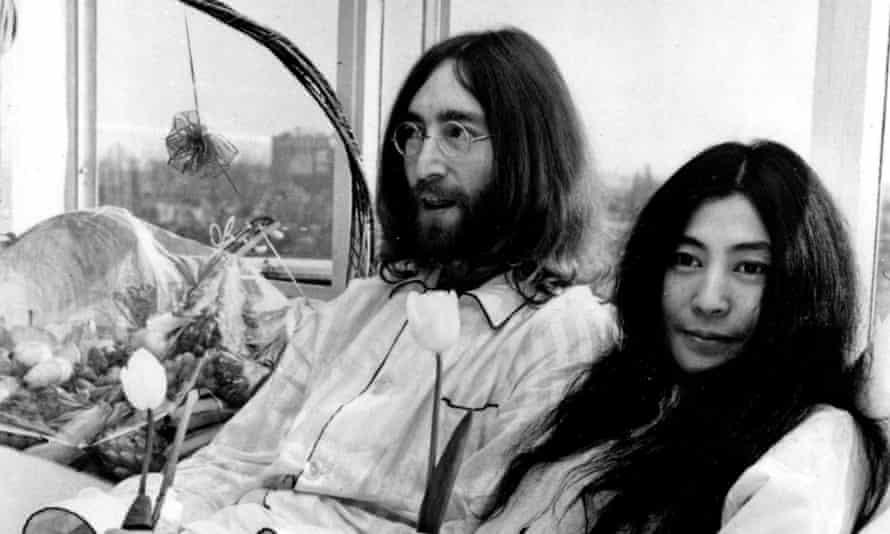 جان لنون و یوکو اونو در سال 1969.