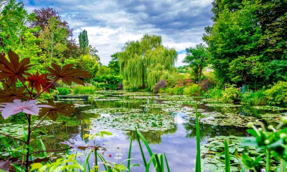 Monet's Garden in Giverny.