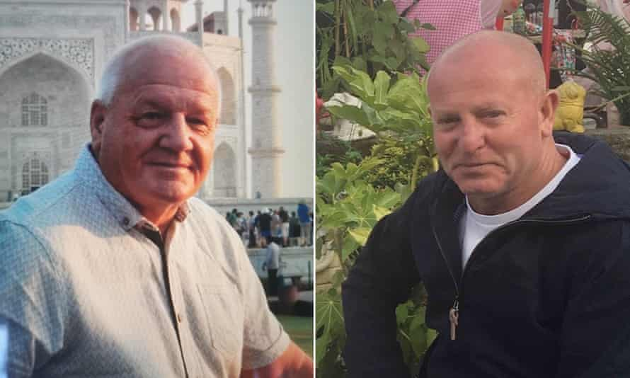 Gareth Delbridge and Michael Lewis, who died while working for Network Rail in July 2019.