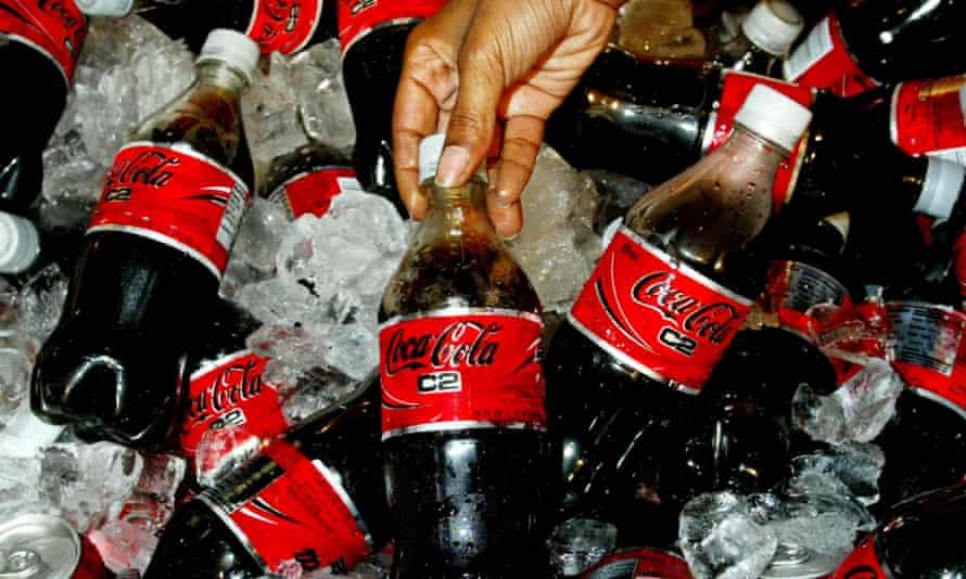 Coco-Cola bottles
