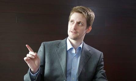Edward Snowden in 2014.