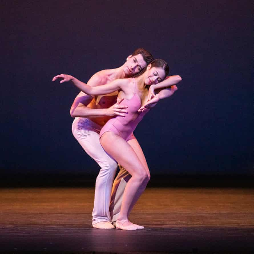 Beatriz Stix-Brunell and Reece Clarke in After the Rain by Christopher Wheeldon from the Royal Ballet's Beauty Mixed Programme.