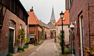 The historical village of Bredevoort, the Netherlands.