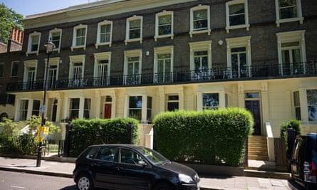 Robert Jenrick's London townhouse.