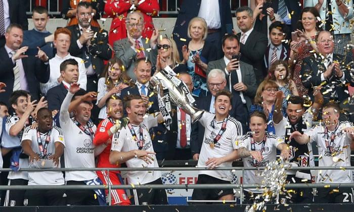 Fulham beat Aston Villa 1-0 in Championship play-off final