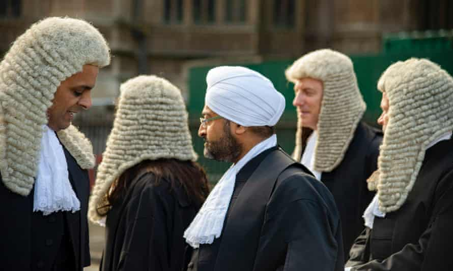 Judges walk from Westminster Abbey to the Palace of Westminster, marking the beginning of the legal year.
