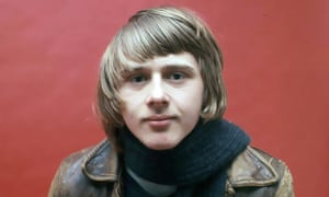 Danny Kirwan in 1968. His compositions would help to move Fleetwood Mac away from their strictly blues roots towards the more melodic soft-rock that made them famous.