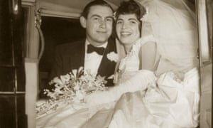 Lawrence and Morella Fisher on their wedding day in 1957.