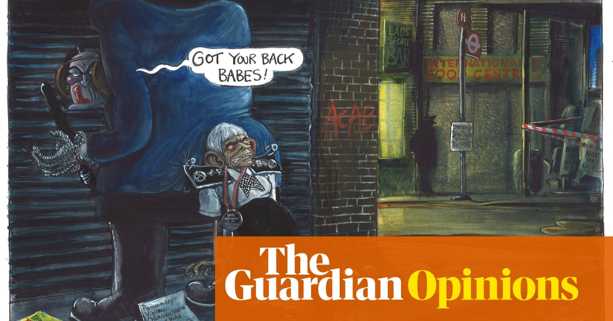 Martin Rowson on Cressida Dick's position after revelations about police failings – cartoon