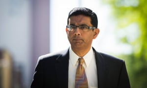 Dinesh D'Souza: his attacks on Obama were particularly strident and controversial