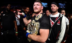 Michael Bisping shocked the UFC world by beating Luke Rockhold in California in June.