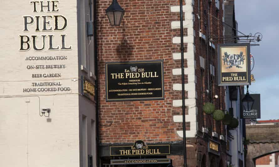 As old as time: established in 1535, the Pied Bull, Chester.