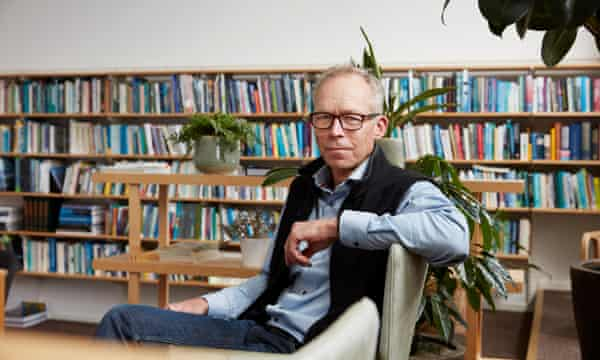 Prof Johan Rockström, photographed at the Stockholm Resilience Center, part of Stockholm University.