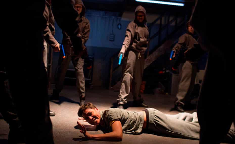 Cush Jumbo as Mark Antony.