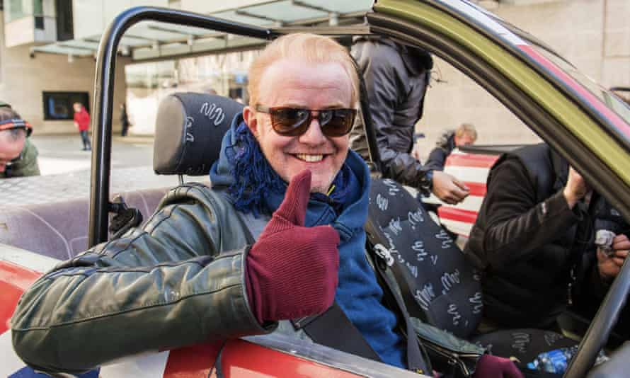 Chris Evans giving a thumbs up