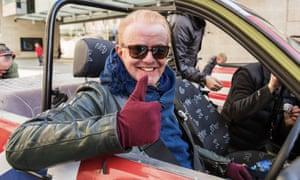 Top Gear, presented by Chris Evans