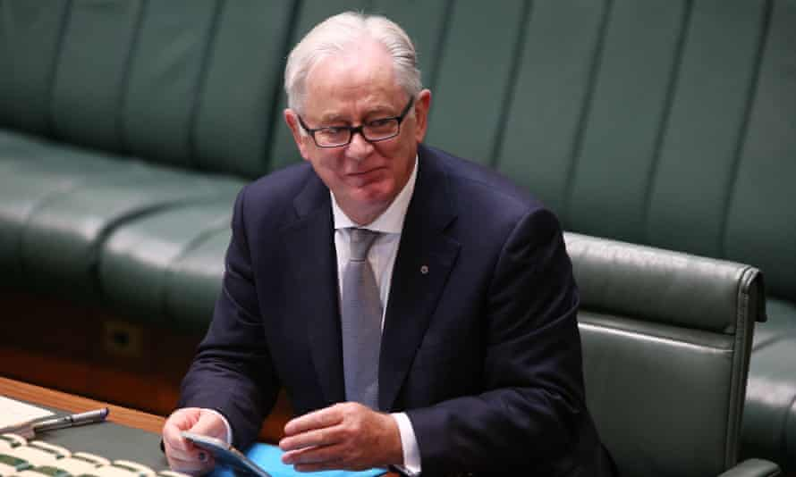 Andrew Robb as trade minister 2016.