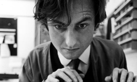 Richard Dawkins in his Oxford lab in 1976: regretted the title of his book as so many did not realise that he was using 'selfish' metaphorically.